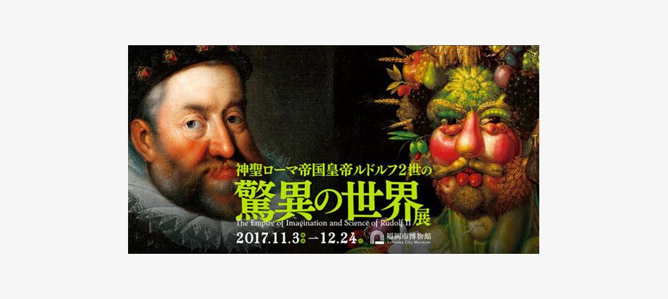 アルチンボルド絵画化インスタレーションが福岡市博物館で展示